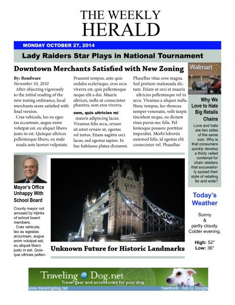 The Weekly Herald